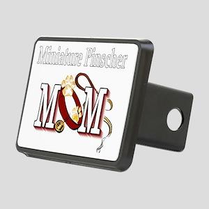 Miniature Pinscher Mom Rectangular Hitch Cover