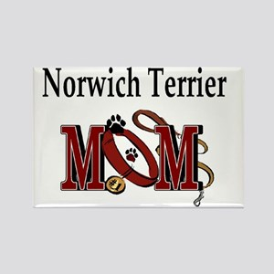 Norwich Terrier Mom Rectangle Magnet