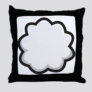 Bunny Tail Throw Pillow