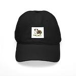 Bearded Collie Black Cap
