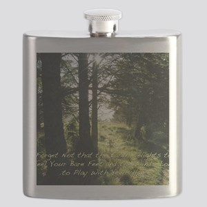 The Earth Delights in You Flask