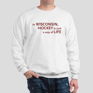 Wisconsin Hockey Sweatshirt