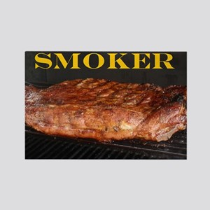 Smoked Ribs Rectangle Magnet
