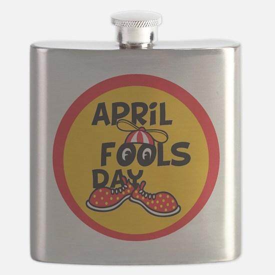 April Fools Day Beanie Boy Flask
