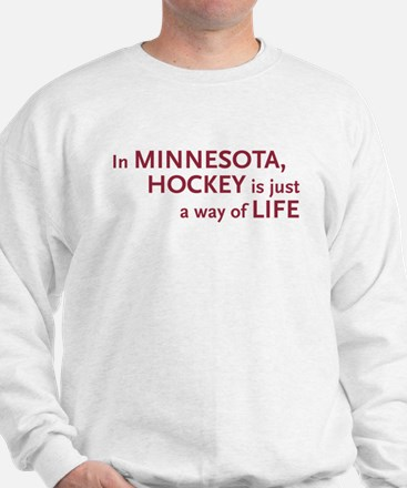 Minnesota Hockey Sweatshirt