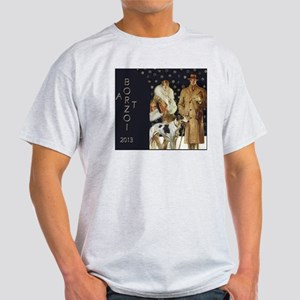 BorzoiCalendar2013 Light T-Shirt