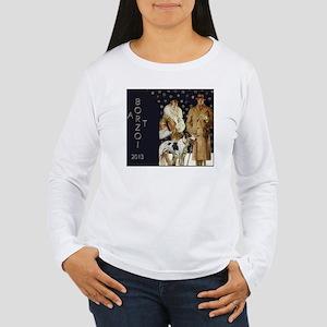 BorzoiCalendar2013 Women's Long Sleeve T-Shirt