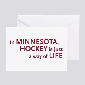 Minnesota Hockey Greeting Cards (Pk of 10)