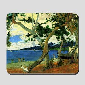 Paul Gauguin Beach Scene Mousepad