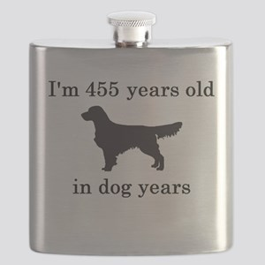 65 birthday dog years golden retriever Flask