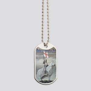 Christian Knight on Horse Dog Tags