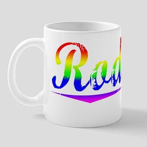 Rodgers, Rainbow, Mug