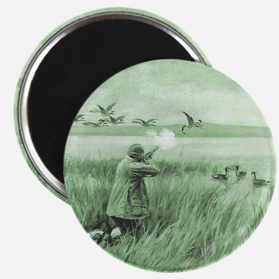 Hunting Wild Geese Magnet