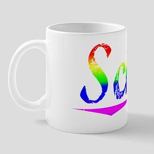 Schuh, Rainbow, Mug