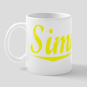 Simmers, Yellow Mug