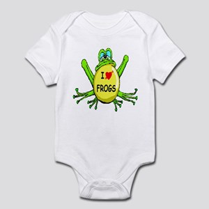 I Love Frogs Infant Bodysuit