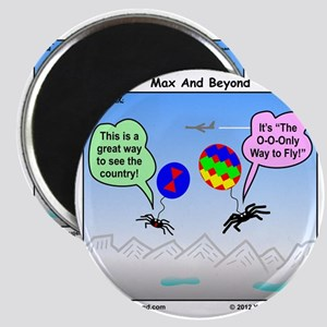Ballooning Spiders ... Magnet