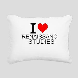 I Love Renaissance Studies Rectangular Canvas Pill