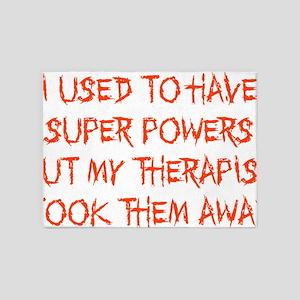 Super Powers 5'x7'Area Rug