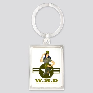 Vesha Valentine WEAPON OF MALE D Portrait Keychain