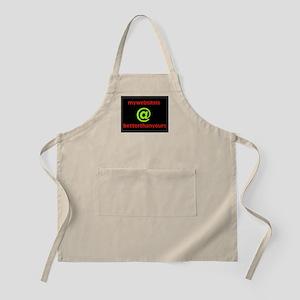 MY WEBSITE BBQ Apron