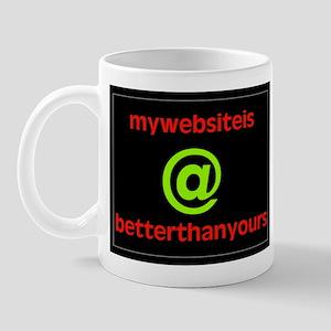 MY WEBSITE Mug