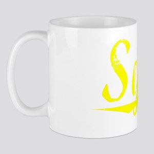 Sykes, Yellow Mug