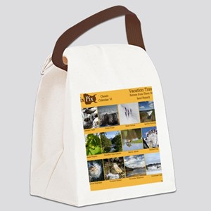 DixPix Classic Calendar 6: Vacati Canvas Lunch Bag