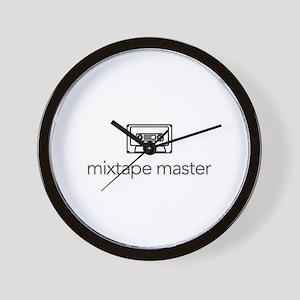 mixtape master  Wall Clock