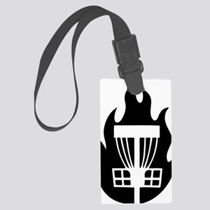 Fireball Basket black Large Luggage Tag
