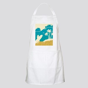 Surfer at the Beach Apron