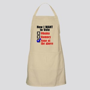 Election 2012 Apron