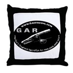 Gar Fishing Throw Pillow