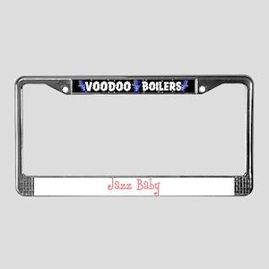 Jazz Baby License Plate Frame
