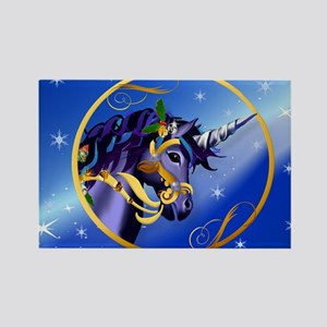 Yard Sign Another Magical Christm Rectangle Magnet