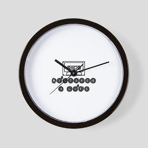 mixtapes 4 life  Wall Clock