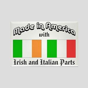 Irish-Italian Rectangle Magnet