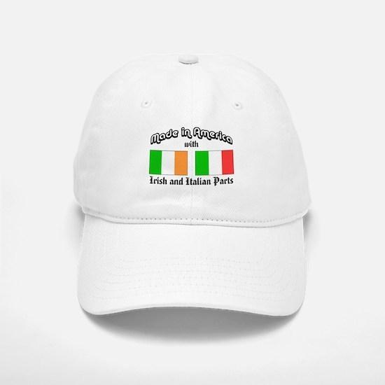 Irish-Italian Baseball Baseball Cap