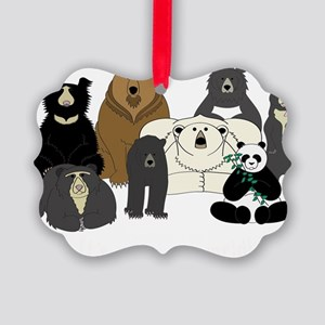 Bears world Picture Ornament