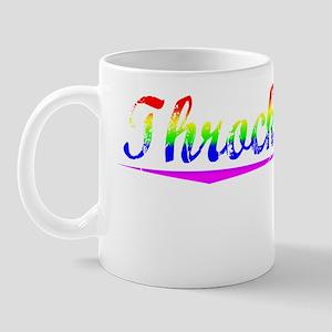 Throckmorton, Rainbow, Mug
