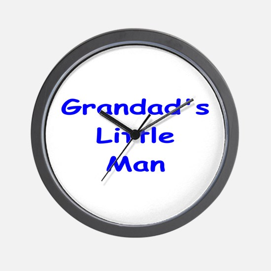 Grandad's Little Man Wall Clock