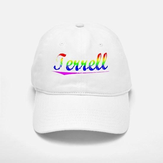 Terrell, Rainbow, Baseball Baseball Cap