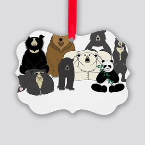 Bear Group Picture Ornament