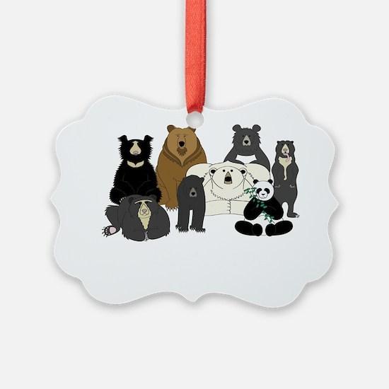 Bear Group Ornament