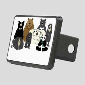 Bear Group Rectangular Hitch Cover