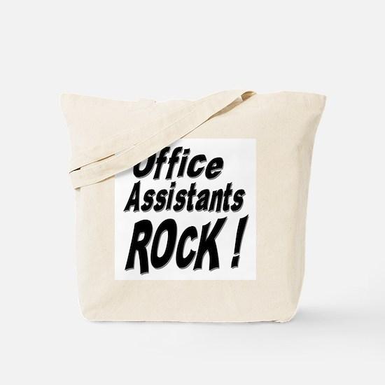 Office Assistants Rock ! Tote Bag