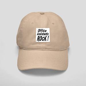 Office Assistants Rock ! Cap