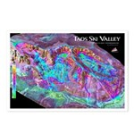 Taos Ski Valley 3dSkiMap Postcards (Package of 8)