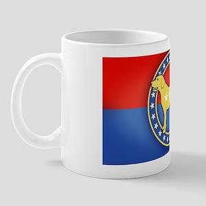 yellow-dog-OV Mug