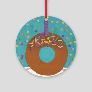 Matts Donut Round Ornament